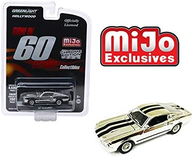 1//64 3 INCHIES GREENLIGHT 1967 FORD MUSTANG GT 500 ELEANOR GONE IN 60 SECONDES