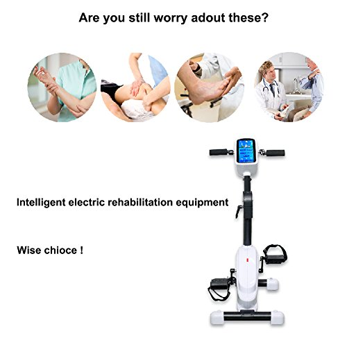 Toys For Stroke Recovery : Electronic physical therapy rehab training equipment cycle