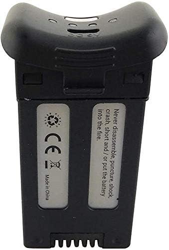 Negro Fytoo 2PCS 3.7V 1000mAh Lipo Bater/ía para SJRC S20W T25 RC Quadcopter Repuestos