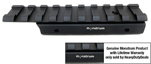 Monstrum Tactical Low Profile Dovetail to Picatinny / Weaver .22 Airgun...