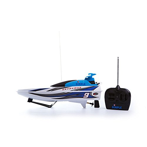 Super Sonic Blue Remote Control Powered Multi Directional Electric Motor Boat 'Extreme Power Edition' by (Super Sonic Costume)
