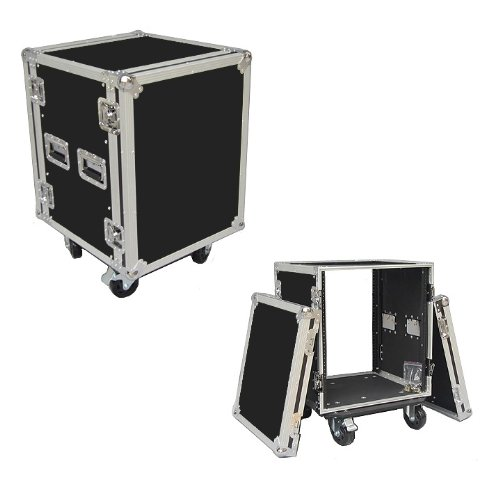 14 Space 14u 18 Inches Deep Heavy Duty 3/8 Ply ATA Amp Rack Case - Closeout by Roadie Products, Inc.