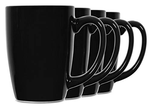 coffee cup set black - 8