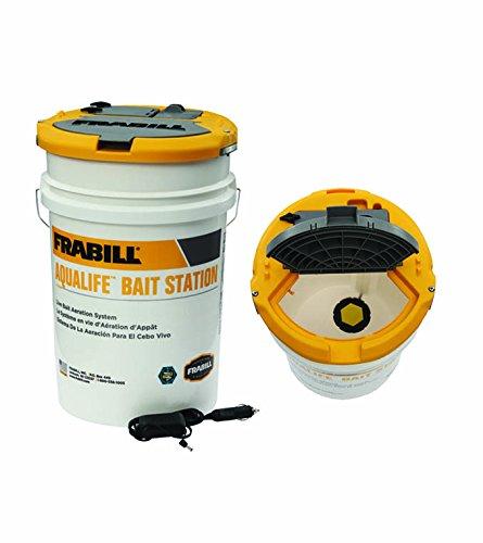 Frabill Aqua-Life Bait Station, 6-Gallon ()