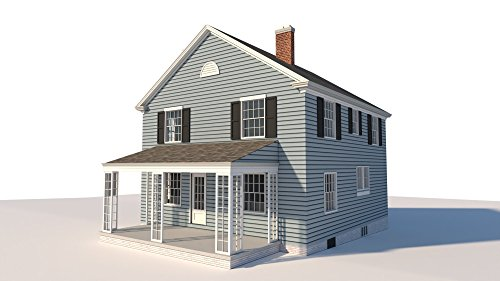 Build your own 1680 sqft 2 story 4-bedroom Farm House (DIY Plans) Fun to - Story Farmhouse