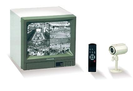 Sistema de Video Vigilancia a Tiempo Real - Monitor+Camara+Mando