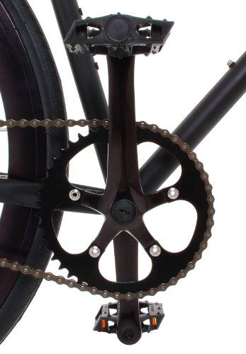 Vilano Rampage Fixed Gear Bike Fixie Single Speed Road Bike Black