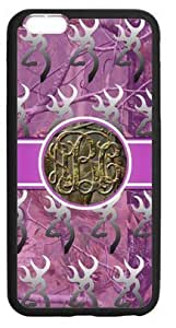 """LILICHEN Monogram Browning Camo Buck Case Cover for Iphone 6 Plus 5.5""""(Laser Technology) -- Design By LILICHEN"""