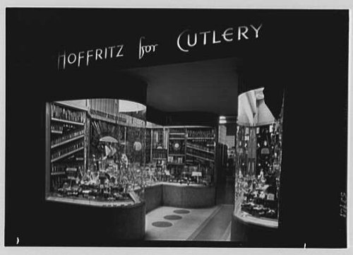 historicalfindings photo hoffritz for cutlery business in new york city 551 5th ave shop. Black Bedroom Furniture Sets. Home Design Ideas