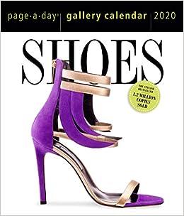 Shoe Calendar 2020 Shoes Page A Day Gallery Calendar 2020: Workman Publishing