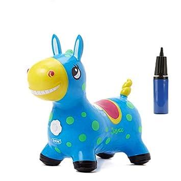 Baobe Horse Rody, Caballo para Saltar Bomba Inflable Incluida, Caballo Inflable, Caballo Rody Caballo de Salto para Niños con el Mejor Caucho ...