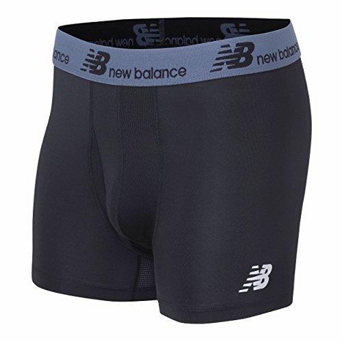 New Balance Mens Dry Fresh Trunk Underwear (Pack of 1), Black, Medium (32-34)