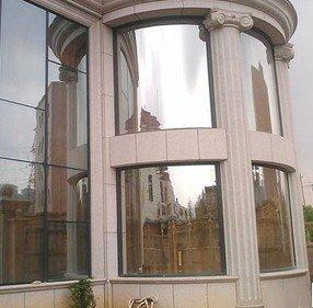 Generic 1pc 80cm Balcony unidirectional sunscreen window film , sun control dodechedron household adhesive film for decor B06XD17J5R