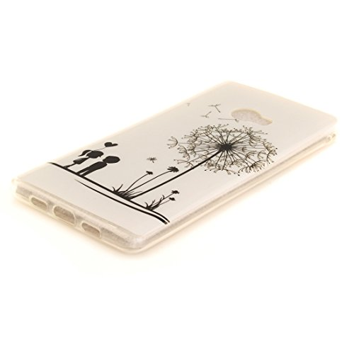 Dandelion Mi Motif 2 Silicone Peint Couverture Téléphone Slim En Scratch Xiaomi Résistant Cas Transparent Arrière TPU De Cas Note Protection Antichoc Souple Bord De Hozor Fit 4qA5n
