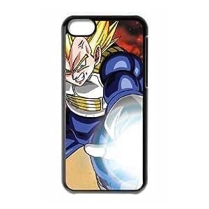 Dragon Ball Z Vegeta iPhone 5c Cell Phone Case Black DIY GIFT pp001_8987490