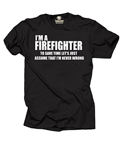 Firefighter T Shirt Profession Funny Shirt