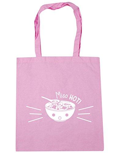 HippoWarehouse Miso Hot. Bolsa de la compra bolsa de playa 42cm x38cm, 10litros Classic Pink