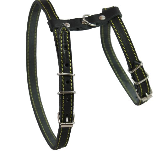 Real Leather Feline Harness, 12