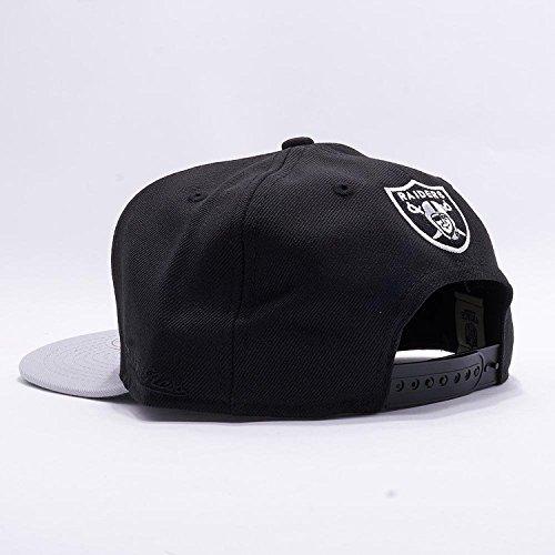 c9219b789a98e Mitchell   Ness Los Angeles Raiders Black Vintage Script N.W.A Adjustable  Snapback Hat NFL (Black