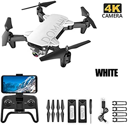 TwoCC Mini Drone,2.4Ghz 4Ch 4K WiFi Altitude Hold Cámara de Ángulo ...
