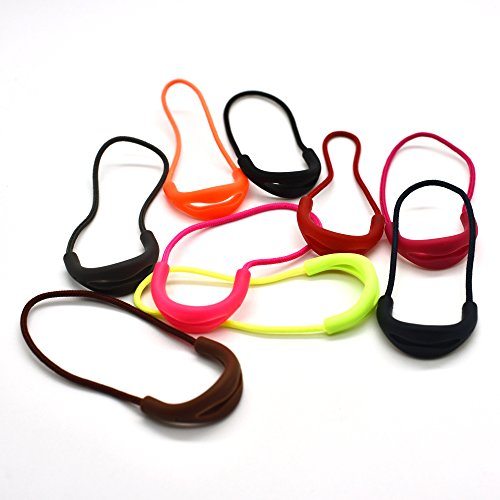 9pcs/pack U Shape Color Zipper Pulls Fits/zipper Fixer For Apparel Accessories (Mix 9 Colors)
