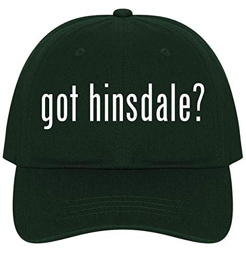 The Town Butler got Hinsdale? - A Nice Comfortable Adjustable Dad Hat Cap, Forest