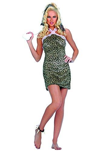 [Sexy Wilma Cave Lady Flintstone Costume - MEDIUM/LARGE] (Sexy Wilma Costumes)