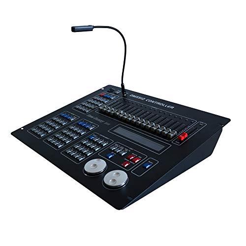 IMRELAX DMX Controller Sunny 512 Scanner DMX Console Auto Save Data for DJ Disco Stage - Professional Scanner Dmx