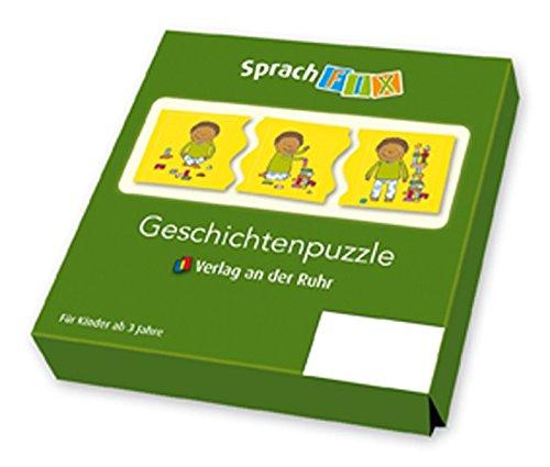 Geschichtenpuzzle - Set 2 (Sprachfix - Spiele zur Sprachförderung)