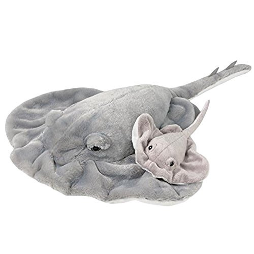 (Adventure Planet Birth of Life Stingray with Baby Plush Toy 22
