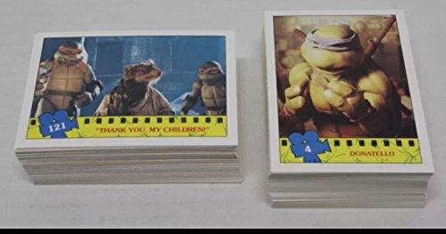 1990 Topps Tmnt Trading Card Factory Set (132) Cards Teenage Mutant Ninja Turtles Movie Non-sport ()
