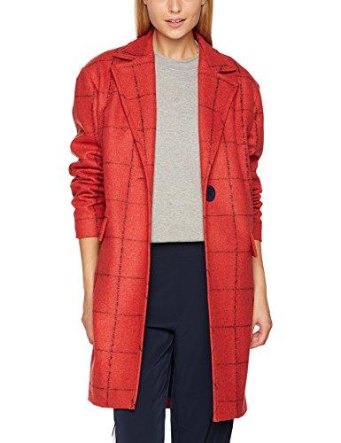 Finition Manteau Cacharel Femme Droit Brique Rouge xwqq51C0