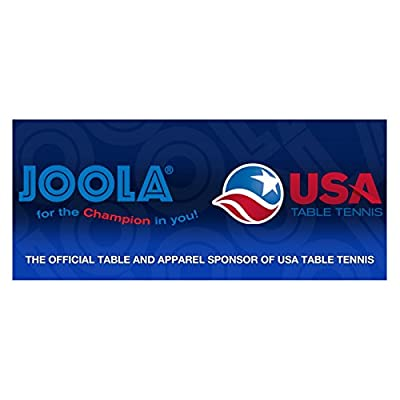 JOOLA Midsize Compact Table Tennis Table Great for Small Spaces and Apartments – Multi-Use Free Standing Table - Compact Storage Fits in Most Closets - Net Set Included | Learning Toys
