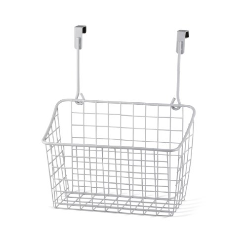 Medium White Door (Spectrum Diversified Grid Storage Basket, Medium, White)