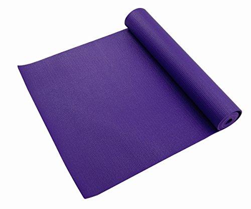 Living Green 3000 Tapete de Yoga, Color Morado, 3 mm