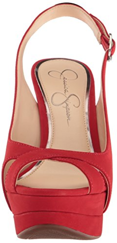 Jessica simpson-JS-WILLEY Rojo
