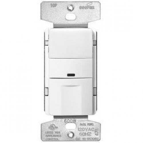 Occupancy Sensor Wiring (Cooper Wiring Devices White 3-Way Occupancy Sensor Decorator Light Switch)