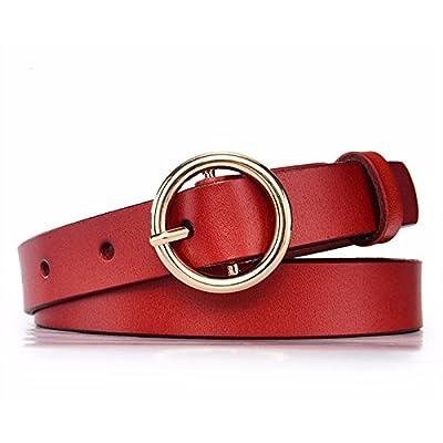 757b0e206ed6 2018 Nouveau style une belle ceinture de cuir jupe ceinture ring simple  décoration boucle ceinture de