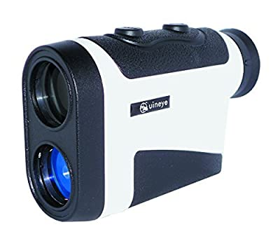 Golf Rangefinder - Range : 5-1950 Yards, +/- 0.33 Yard Accuracy, Laser Rangefinder with Height, Angle, Horizontal Distance Measurement Perfect for Hunting, Golf, Engineering Survey (White) by Uineye