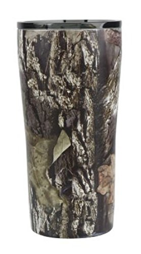 Mossy Oak 20-Ounce Double-Wall, Vacuum-Sealed Tumbler, Camo
