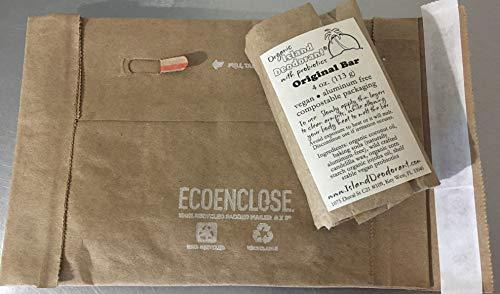 - Organic Island Deodorant Original Deodorant Bar with Probiotics, Biodegradable, Plastic Free, Eco-friendly, Zero Waste, 4 oz Bar