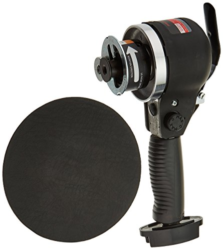 6-Inch Edge Series Dual Action Air Sander, Black (6 Dual Action Sander)