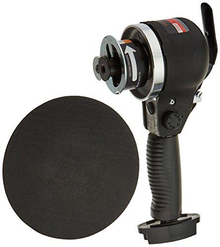 6-Inch Edge Series Dual Action Air Sander, Black (6 Dual Action Sander)