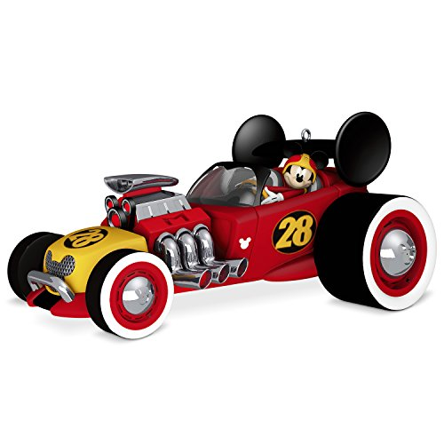 Hallmark Keepsake Christmas Ornament 2018 Year Dated, Disney Junior Mickey and The Roadster Racers