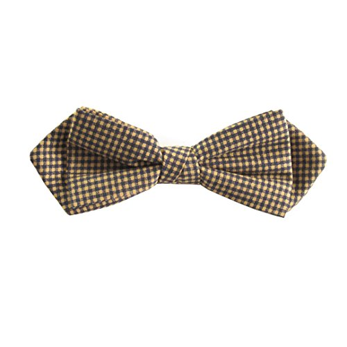 Bow Tie Navy Van Brown Pointed Blue Buck Tied and Gingham by Pre fUpZZq