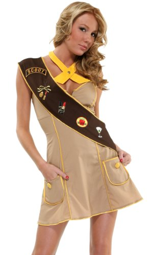 Adult girl scout costume