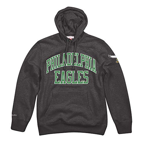 - Mitchell & Ness Philadelphia Eagles NFL Playoff Win Pullover Hooded Sweatshirt