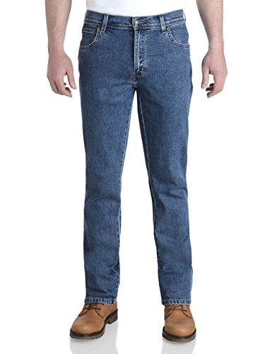 Wrangler Herren Jeanshose blau Stonewash 44W x 31L