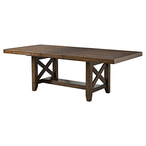 - Picket House Furnishings Francis Dining Table in Chestnut