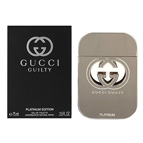 Gûcci Guilty Platinum Edition Eau De Toilette Spray For Women 2.5 FL. OZ./75 ml